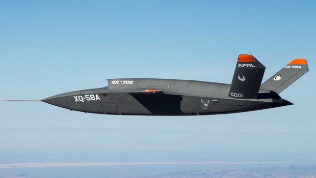 A aeronave Valquíria foi projetada para acompanhar e proteger caças tripulados (Foto: Divulgação / Força Aérea dos EU)