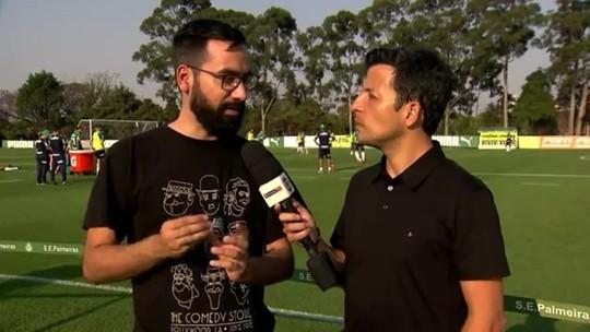 Palmeiras revê rival da despedida de Ricardo Goulart e de dois gols de Zé Rafael