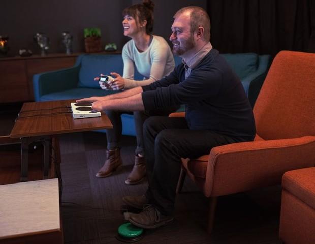Novo controle do Xbox para jogadores com deficiência (Foto: reprodução)