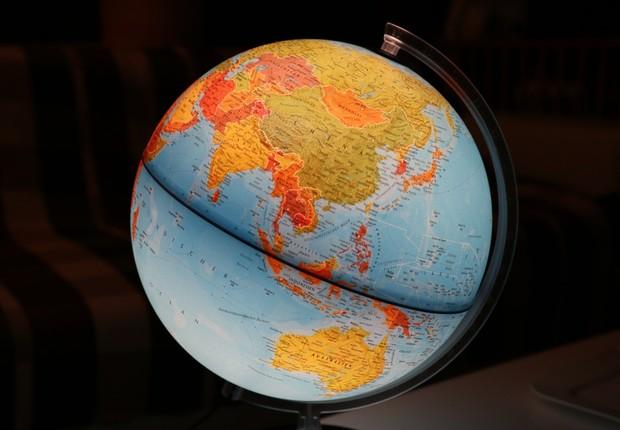 globo terrestre (Foto: Pexels)