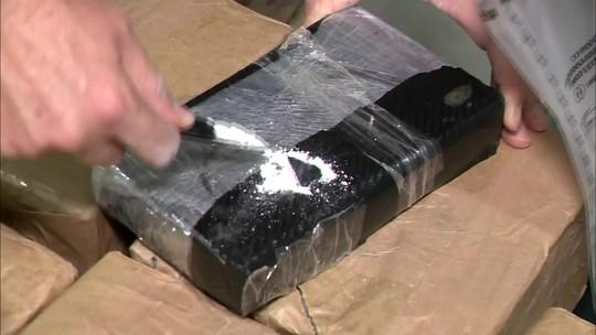 Mais de 500 kg de cocaína são encontrados em carregamento de rochas em SC
