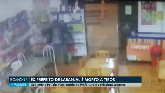Ex-prefeito de Laranjal é assassinado a tiros dentro de padaria