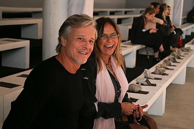 Marcello Novaes e Fafá de Belém (Foto: AgNews)