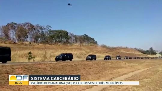 Presídio de Planaltina (GO) recebe presos de três municípios
