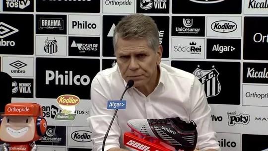 """Paulo Autuori diz que não fica no Santos em 2020: """"Nenhuma possibilidade"""""""
