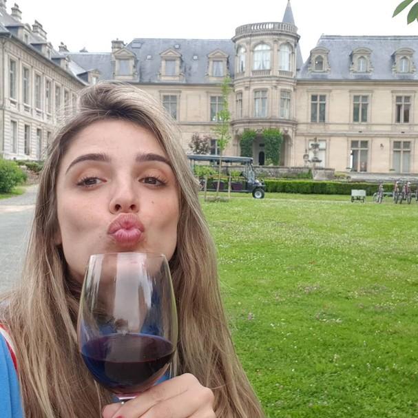 Rafa Brittes faz curso de autoliderança na França (Foto: Reprodução / Instagram)