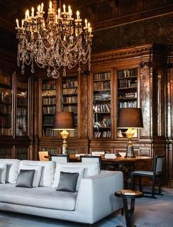 O luxuoso hotel em Veneza
