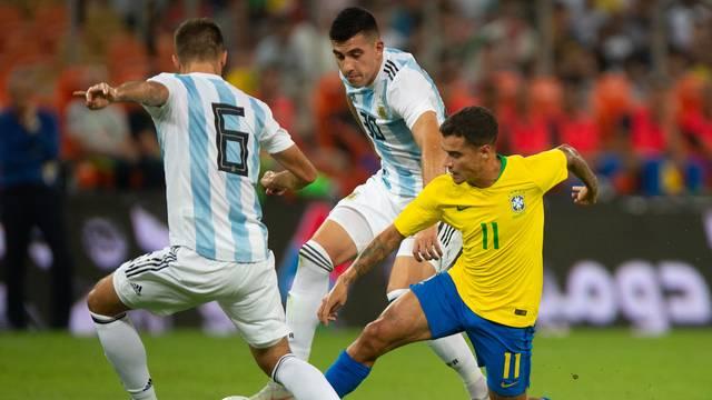 Coutinho em Brasil x Argentina