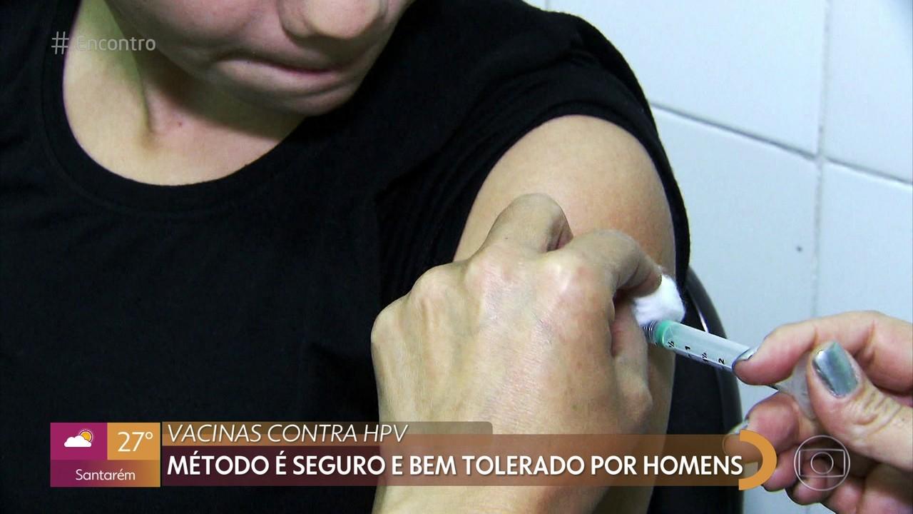 Vacina de HPV em homens é segura