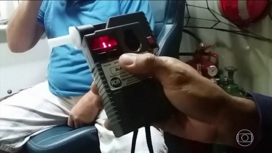 Aumenta número de motoristas flagrados embriagados nas estradas de Goiás