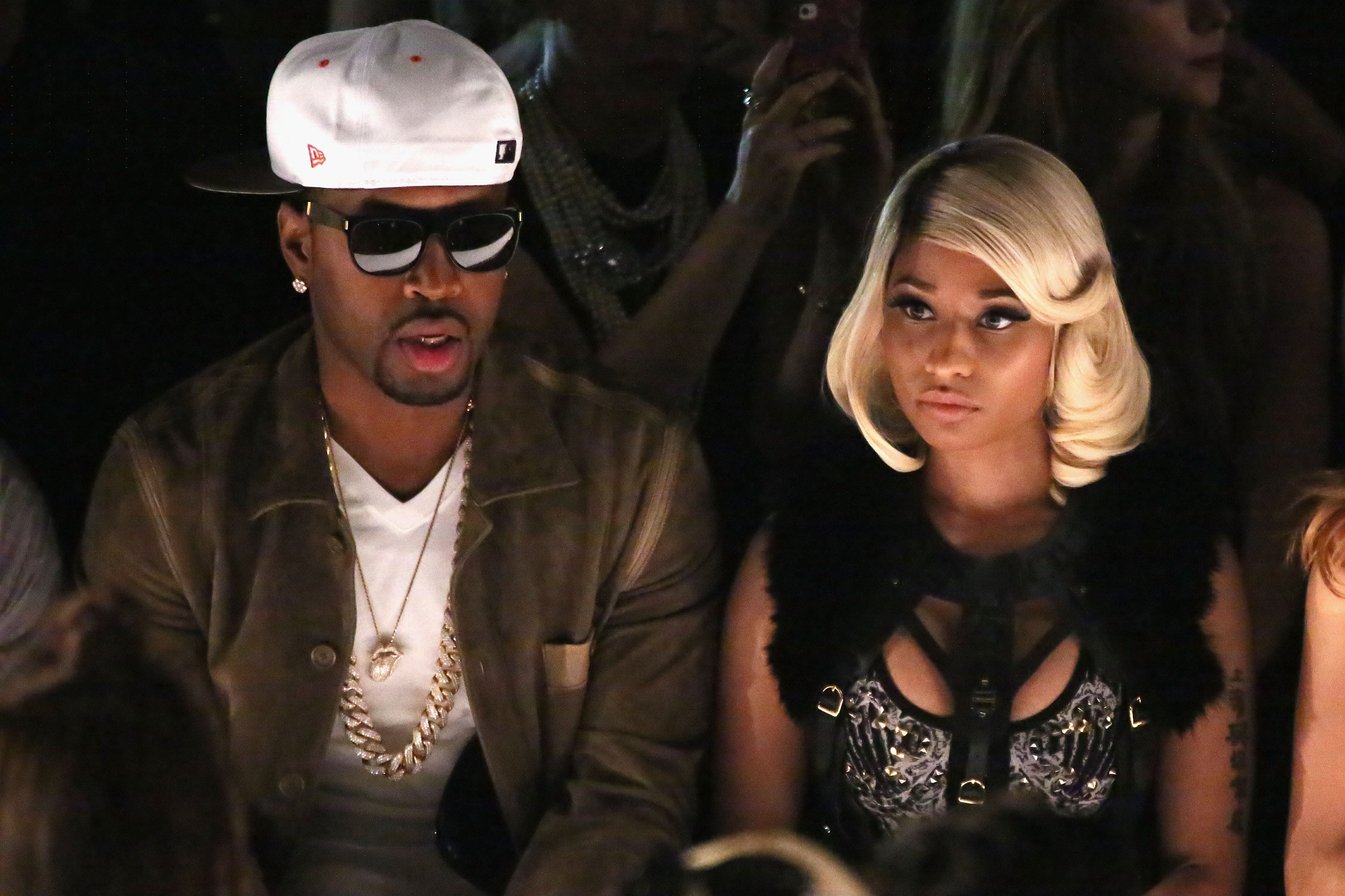 O rapper Safaree Samuels e a cantora Nicki Minaj (Foto: Getty Images)