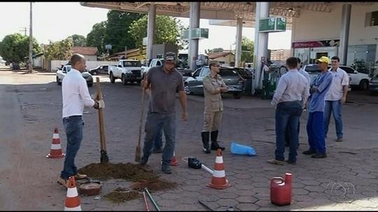 Moradores têm água de cisterna contaminada com óleo diesel em GO