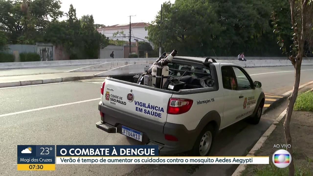 Capital intensifica ação para combater a dengue