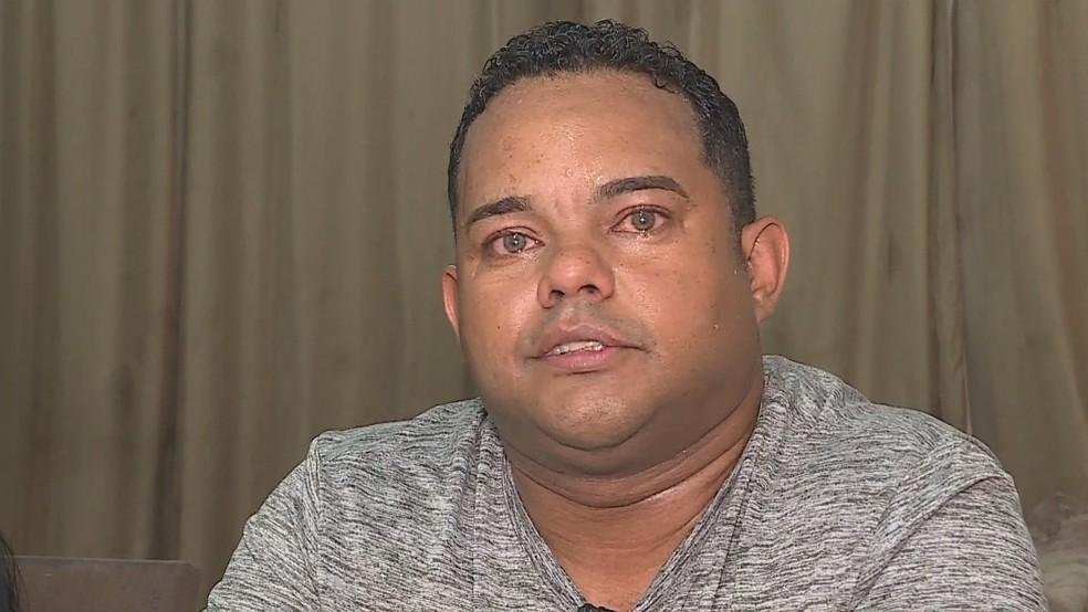 Fábio Coutinho se emociona ao falar sobre a injúria racial no Mineirão — Foto: Globo