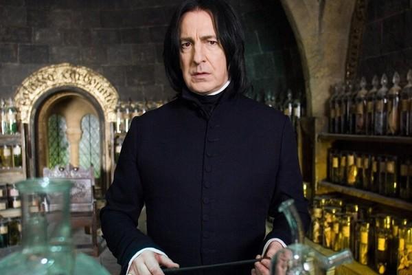 Alan Rickman como o professor Severo Snape (Foto: Divulgação)