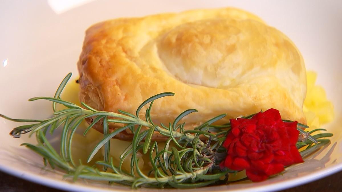 Receita Nosso Campo: aprenda a fazer batata-doce folhada em camas de maçã