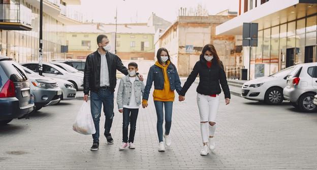 consumo, consumidores, cliente, compras, varejo, máscara, compra, shopping, família