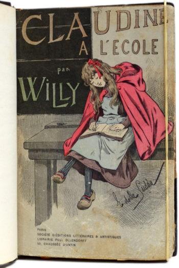 Willy ganhou os créditos por obra escrita por sua então esposa Colette (Foto: Divulgação )