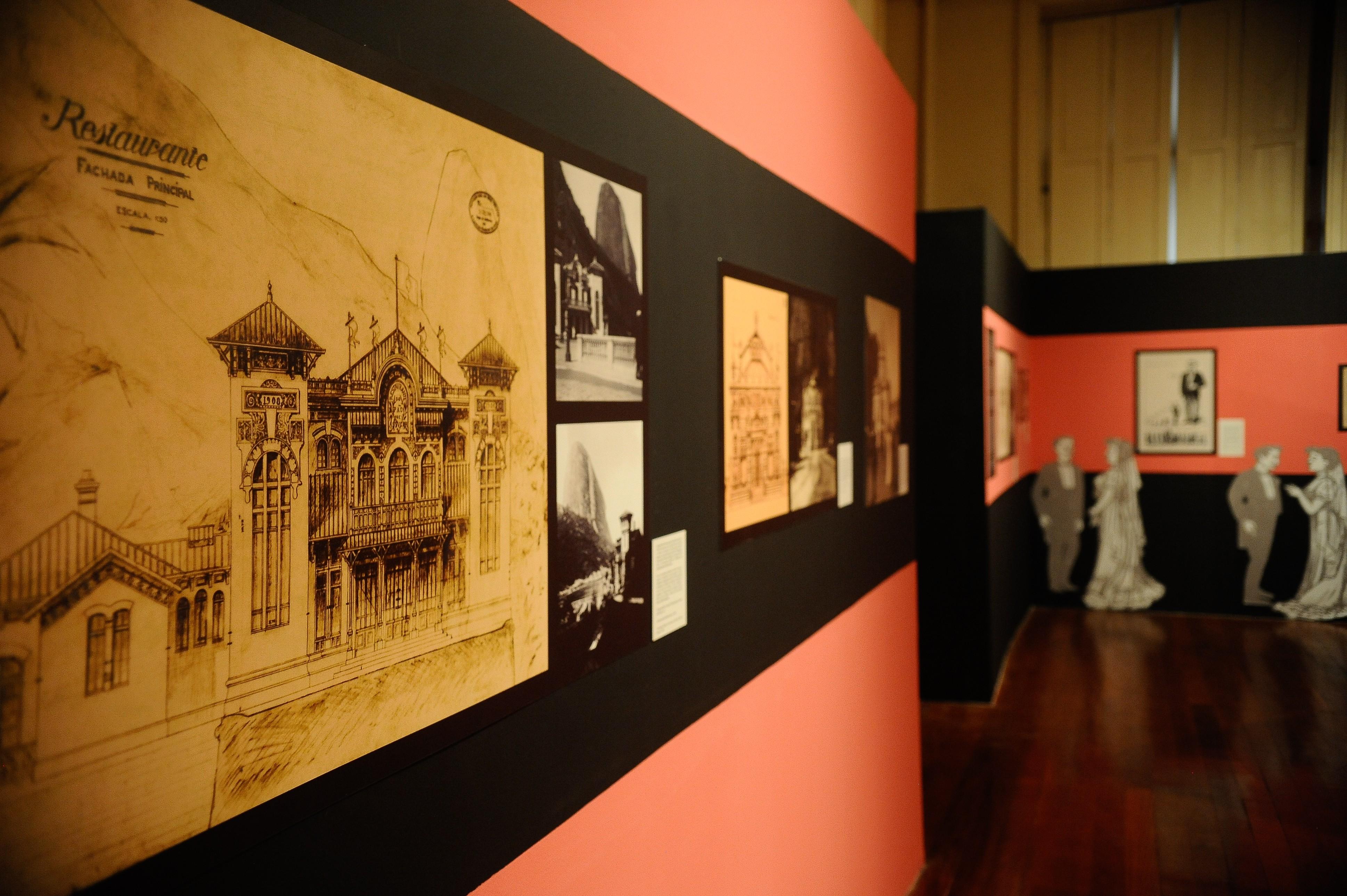 Exposição de fotos no Arquivo Nacional, no Rio de Janeiro (Foto: Agência Brasil)