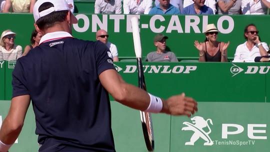 Nadal domina Bautista Agut e começa bem caminhada para 12º título em Monte Carlo
