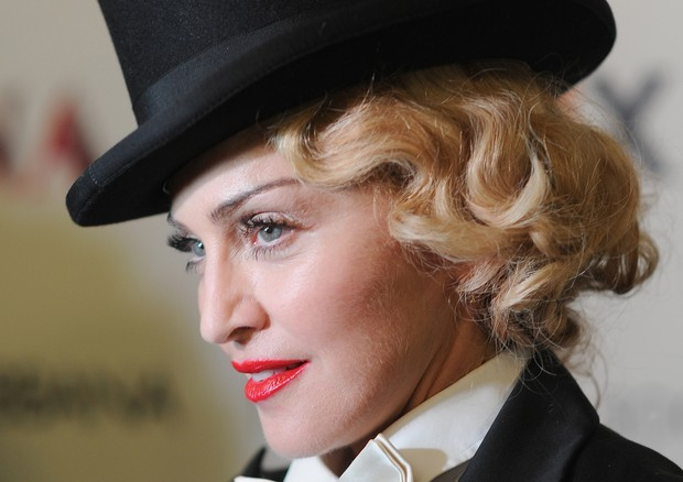 Madonna em 2013 na première do documentário Madonna: The MDNA Tour (Foto: Getty Images)