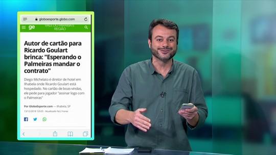 Central do Mercado: Para Eric Faria, Ricardo Goulart está perto do Palmeiras