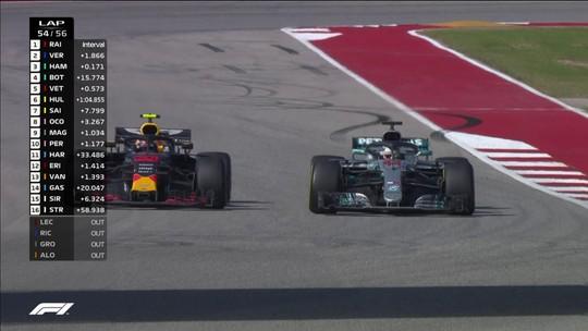 """Hamilton afirma que deu """"espaço demais"""" para Verstappen, mas se diz satisfeito com atuação"""
