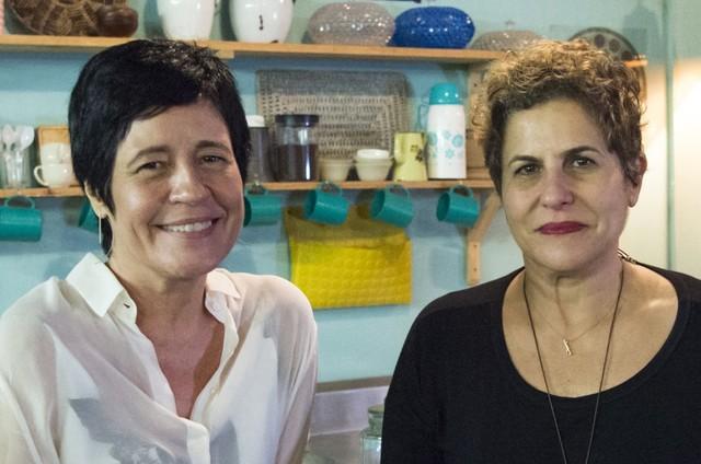 Thelma Guedes e Duca Rachid (Foto: Estevam Avellar/Globo)