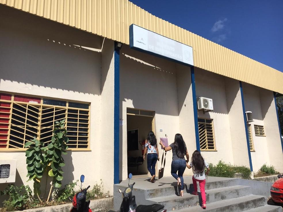 Instituto de Identificação Odílio Cruz, em Boa Vista, não emite RGs desde setembro — Foto: Emily Costa/G1 RR