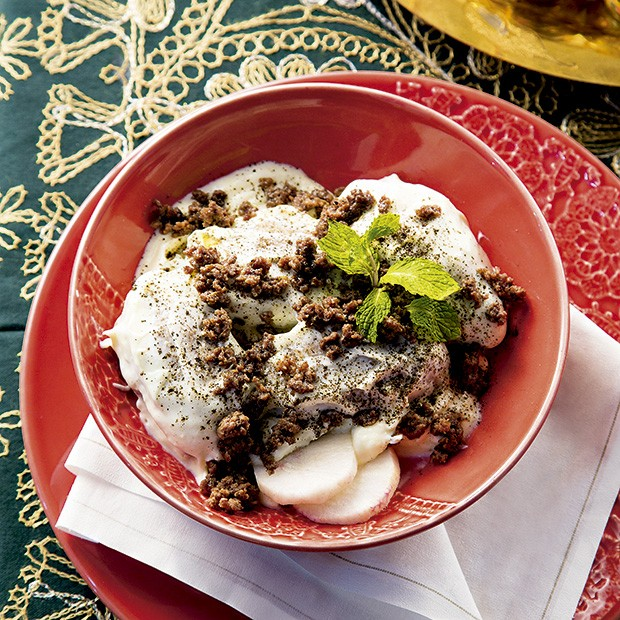 Quibe ao molho de iogurte (Foto: Mário Rodrigues/Editora Globo)