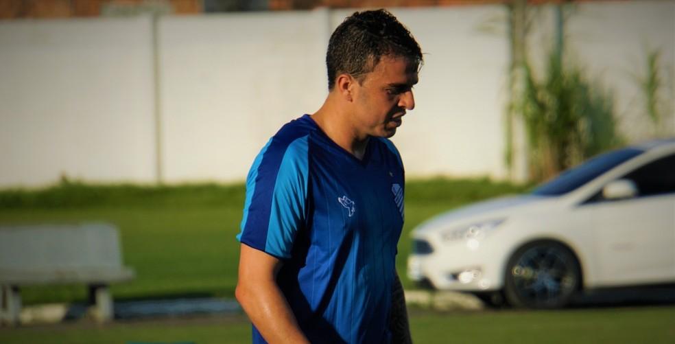 Andrigo ainda não estreou pelo CSA — Foto: Matheus Pimenta/ASCOM CSA