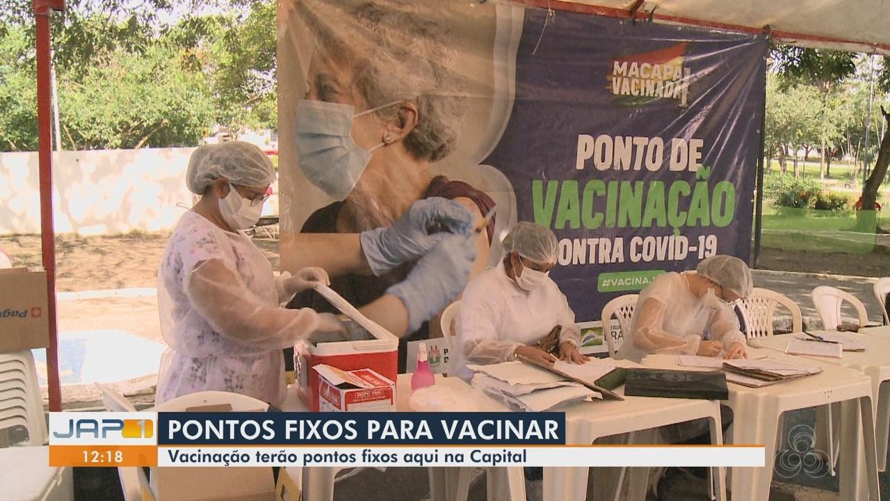 Macapá terá pontos fixos de vacinação contra Covid-19