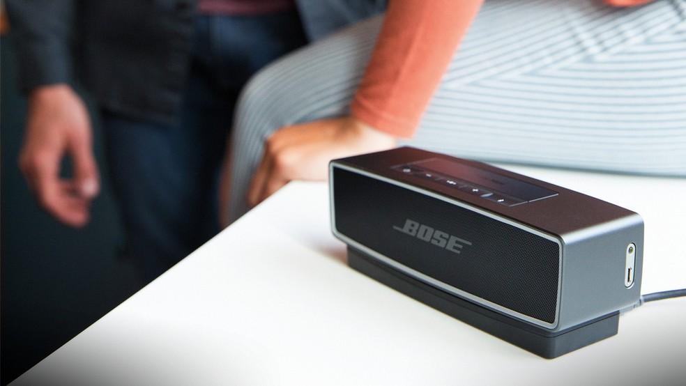 Bose SoundLink Mini II possui design sofisticado (Foto: Divulgação/Bose)