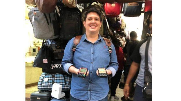 BBC: Hugo Miranda: 'Eu não tinha ideia do quanto se transacionava dentro do setor informal e dentro das comunidades' (Foto: ARQUIVO PESSOAL/BBC)