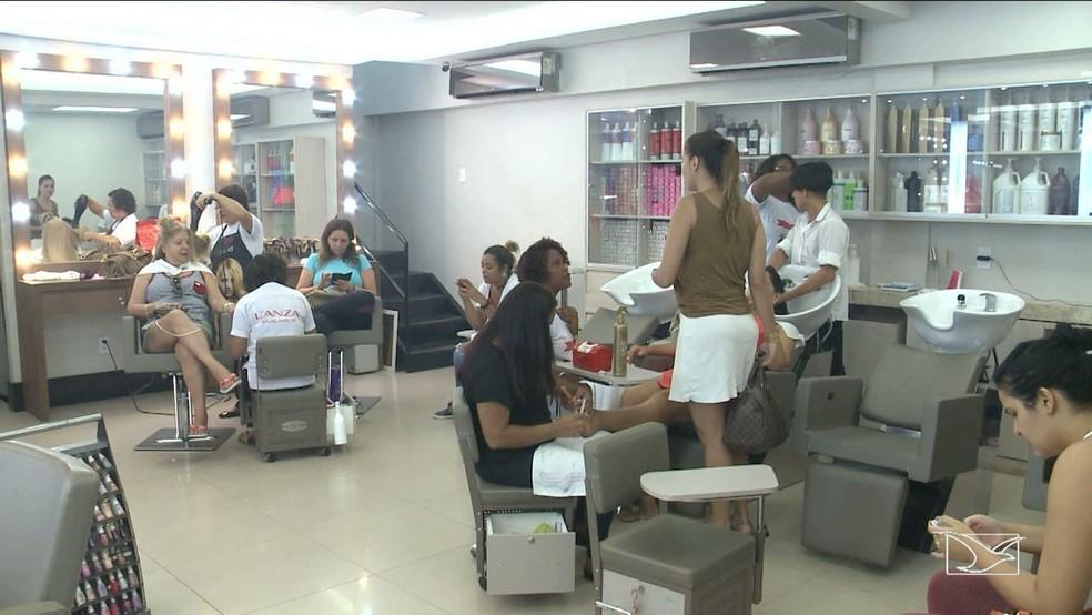 Salões de beleza poderão reabrir a partir do dia 1º de junho no Maranhão — Foto: Reprodução/TV Mirante