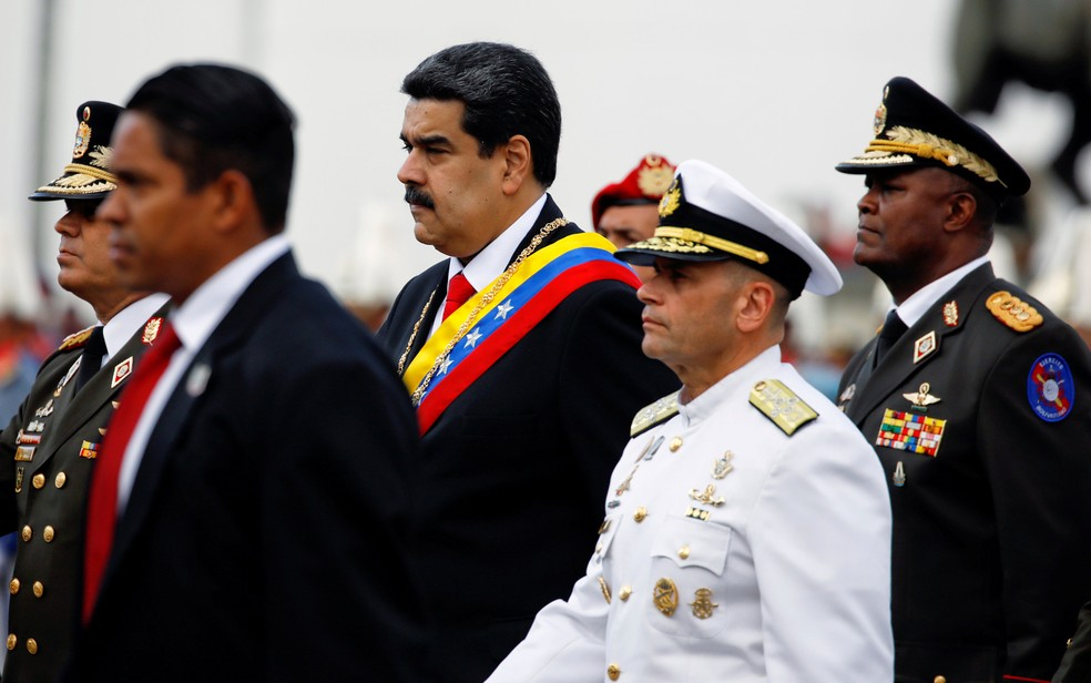 O presidente da Venezuela, Nicolás Maduro, em imagem de 10 de janeiro de 2019 — Foto: Adriana Loureiro/Reuters