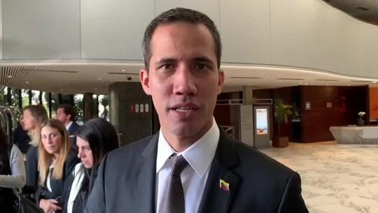 Guaidó agradece apoio do Brasil e embarca para o Paraguai