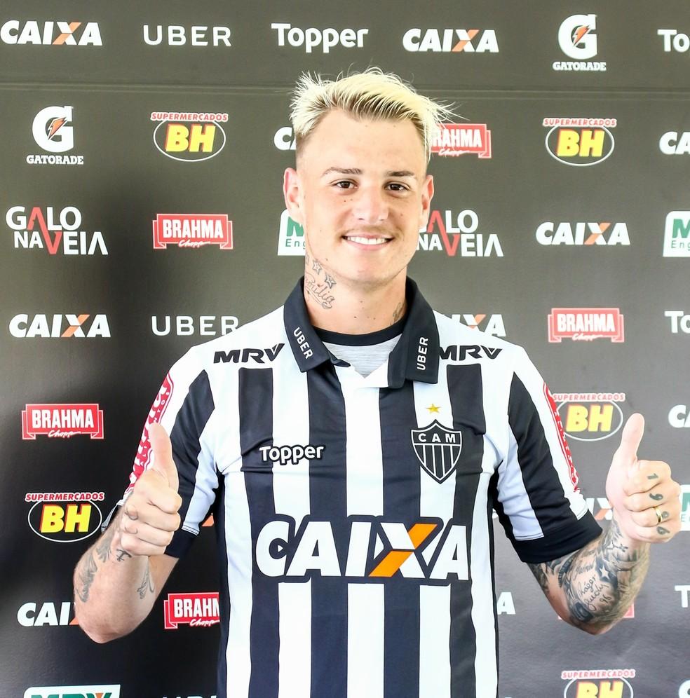 Atlético-MG tem preferência de compra de Róger Guedes, mas contrato de empréstimo não tem passe fixado (Foto: Bruno Cantini/CAM)