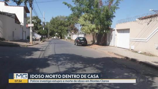 Polícia investiga morte de idoso em Montes Claros; vítima também foi estuprada