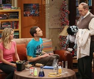 Bob Newhart em 'The Big Bang Theory' | Reprodução da internet