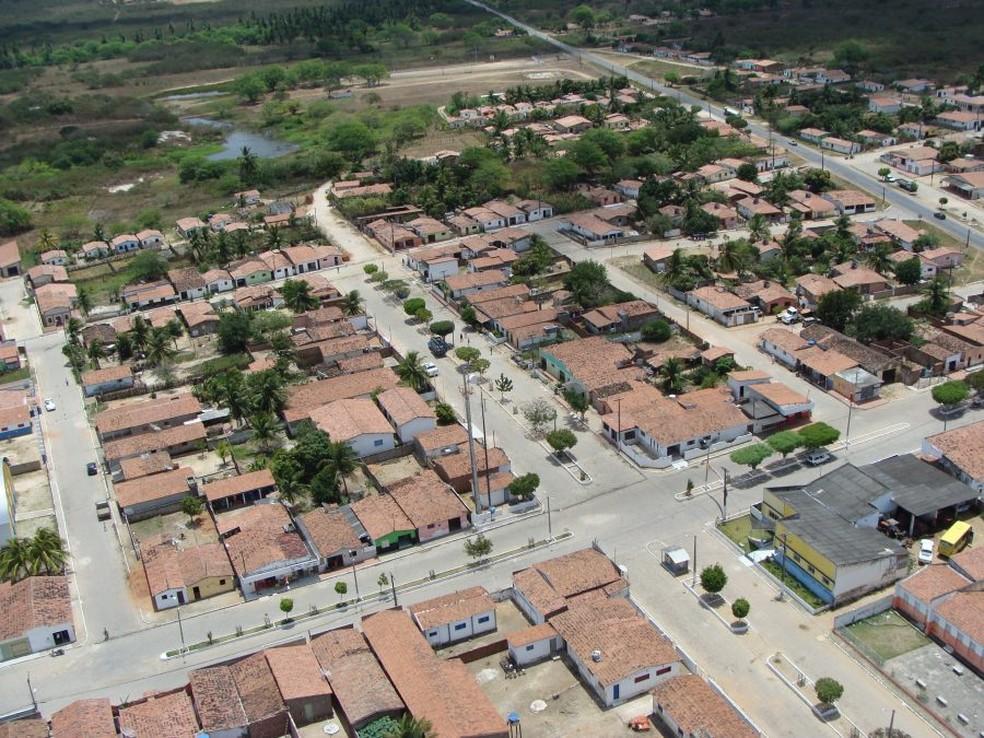 Município de Bento Fernandes, no RN, tem cerca de 5,5 mil habitantes, segundo o IBGE — Foto: Prefeitura de Bento Fernandes