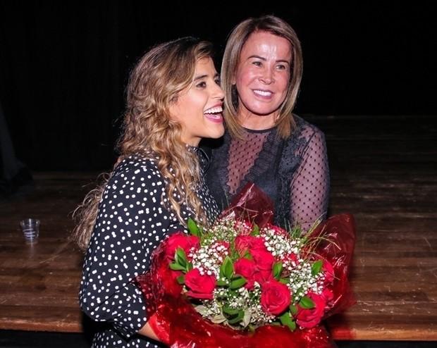 Camilla Camargo e a mãe, Zilu Godói (Foto: Thiago Duran / AgNews)