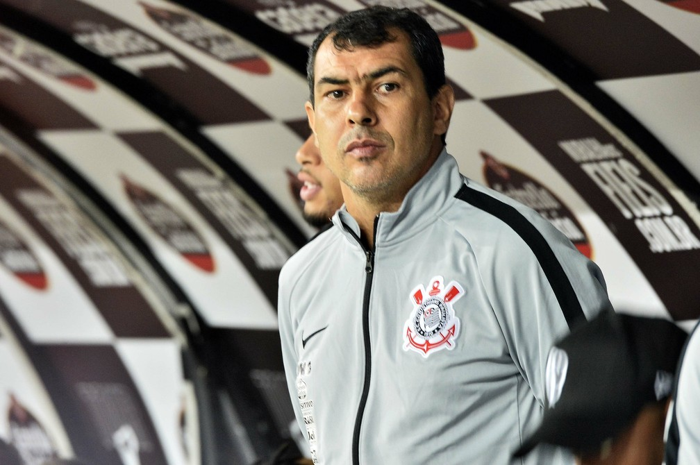 Fábio Carille Corinthians x Cruzeiro — Foto: Marcos Ribolli