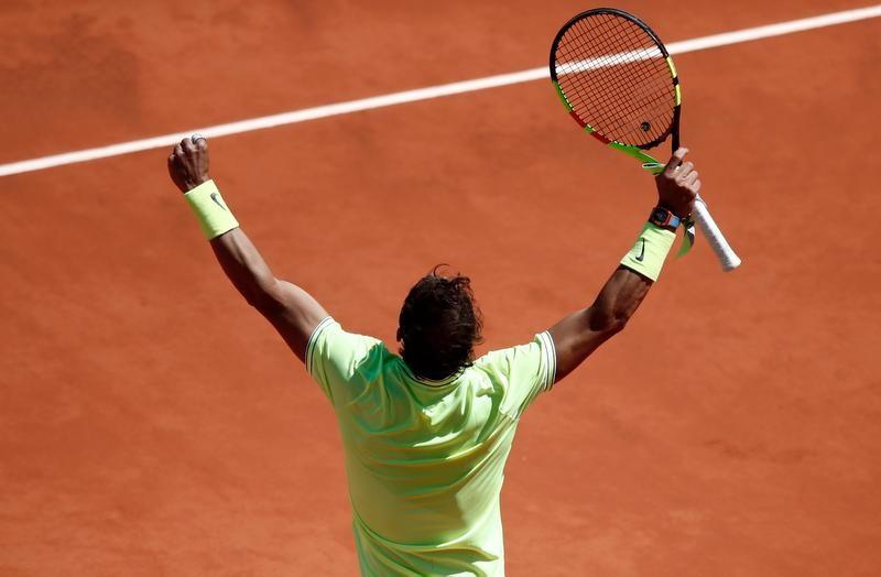 Rafael Nadal tem 11 vitórias em 11 finais em Roland Garros