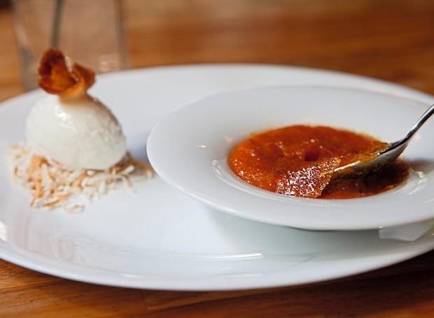 Crème brûlée de abóbora (Foto: Lufe Gomes / Editora Globo)