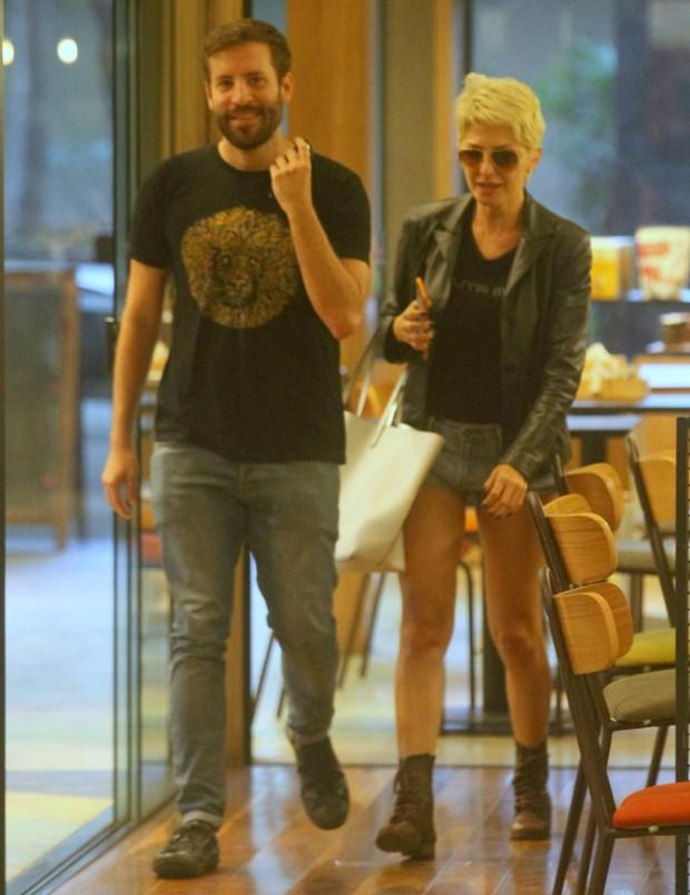 Guilherme Macedo e Antônia Fontenelle (Foto: AgNews)