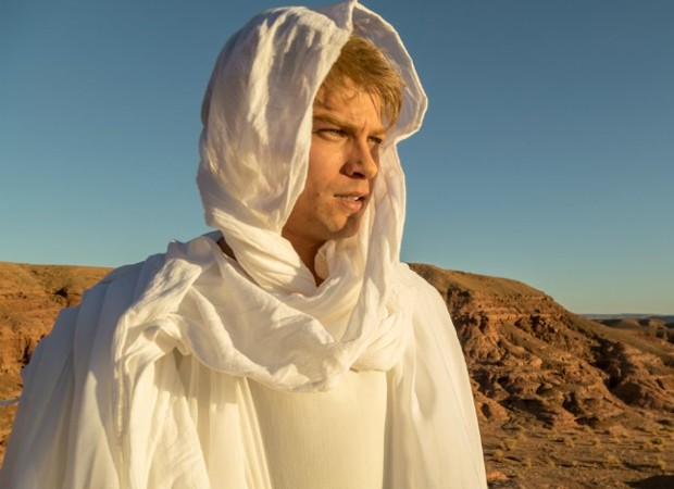 Raphael Sander interpreta o anjo Gabriel (Foto: Edu Moraes/ Record TV)