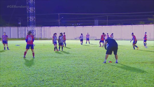 Ingressos a venda, preparação total e foco: Porto Velho treina para duelo contra o Palmeiras