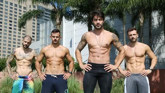 Renan faz treino com amigos para definir após 'BBB16': 'Ganhei gordura e perdi massa magra'