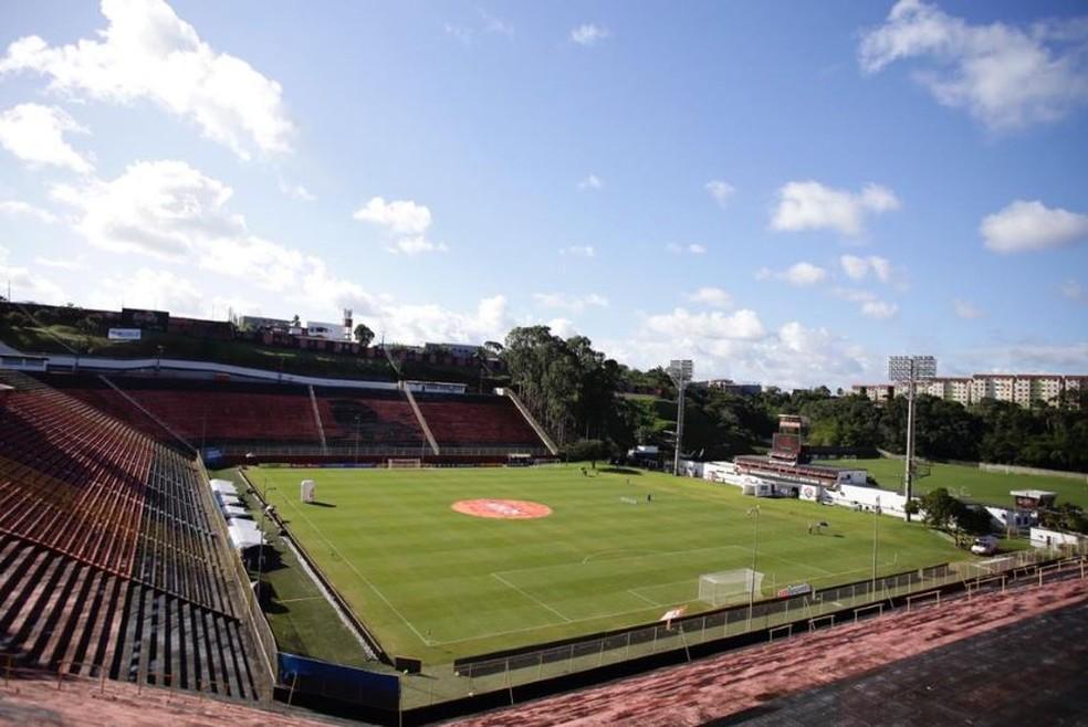 Vitória recebe o Paraná do Barradão — Foto: Sport Club do Recife